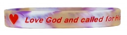 Renew Your Mind ROMANS 8:28 LOVE GOD? Silicone Wristband